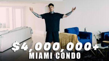 Chris Heria House Tour | $4M Miami Condo