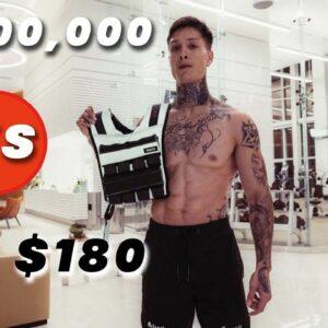 $180 Weight vest VS $1,000,000 Gym