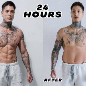 Chris Heria Eats JUNK FOOD For 24 Hours